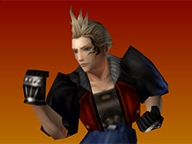 Zell as seen in FF8, probably enjoying some Fish Scratch Fever.